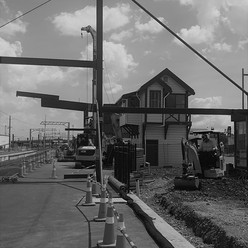 CRL C8 Otahuhu Station Works
