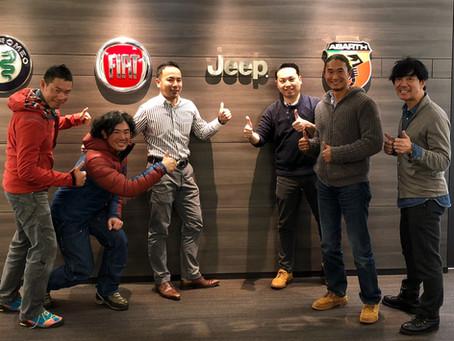 「jeep」×「MENEX」提携!