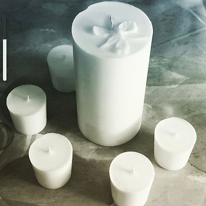 Sea Salt & Orchid votives