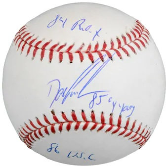 RAFFLE(RAZZ) FOR A DWIGHT GOODEN AUTOGRAPHED BASEBALL