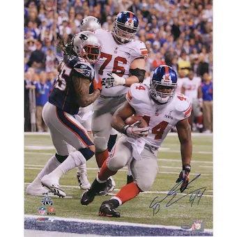 "Ahmad Bradshaw New York Giants Autographed 16"" x 20"" Super Bowl XLVI Game Winnin"