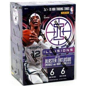 2019/20 Panini Illusions Basketball Blaster Box