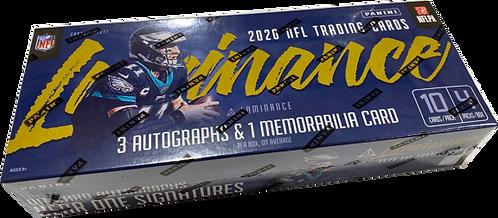 NFL DIVISION BREAK 2020 Luminance Football Box Break 8 Slots