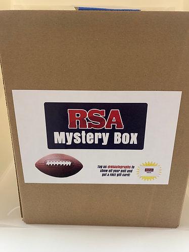 FOOTBALL AUTOGRAPH JERSEY MYSTERY BOX