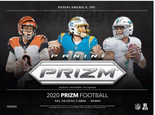 2020 PRIZM FB PYT AND ONE RANDOM BREAK!