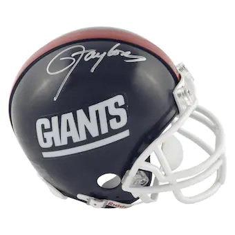 Lawrence Taylor New York Giants Autographed Riddell Mini Helmet
