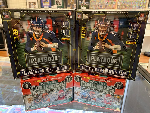 NFL MIXER RANDOM DIVISIONAL BREAK ! 2 PLAYOFF MEGAS 2 FANATIC EXCLUSIVE CONTENDE