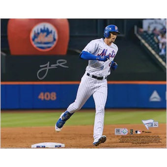 "FRAMED!!! Jeff McNeil New York Mets Autographed 8"" x 10"" Apple Photograph"