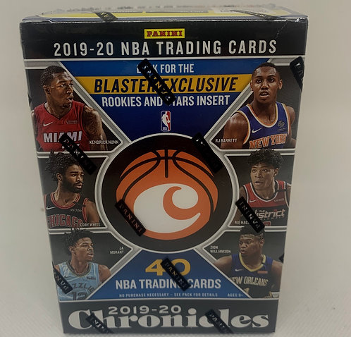 19/20 Panini Chronicles Boxes: Basketball Blaster