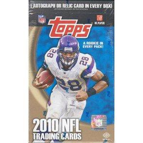 2010 TOPPS NFL HOBBY BOX