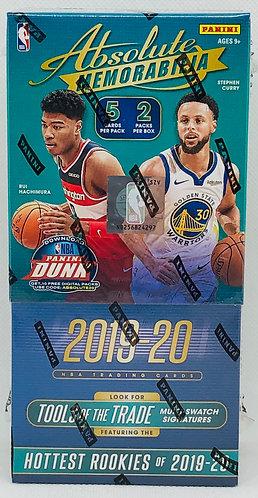 NBA Pack Buster 2019-20 Absolute Memorabilia 2 Slots (1 pack per Slot)