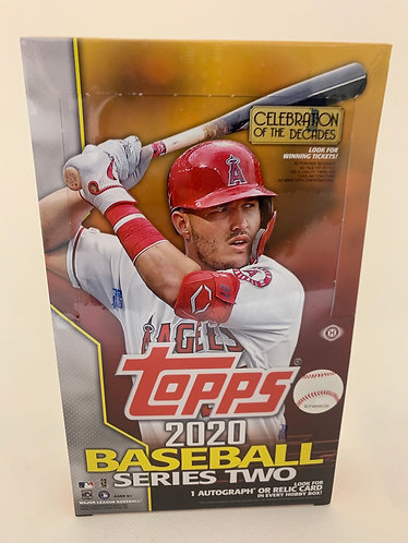 2020 TOPPS SERIES 2 PACKS