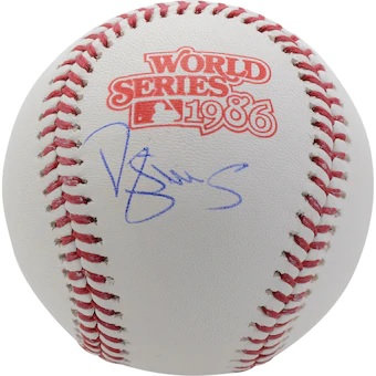 RAFFLE(RAZZ) FOR A DARRYL STRAWBERRY Autographed 1986 World Series Baseball