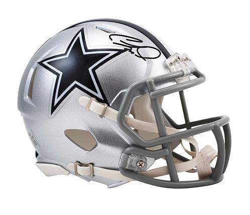 CeeDee Lamb Dallas Cowboys Autographed Riddell Speed Mini Helmet