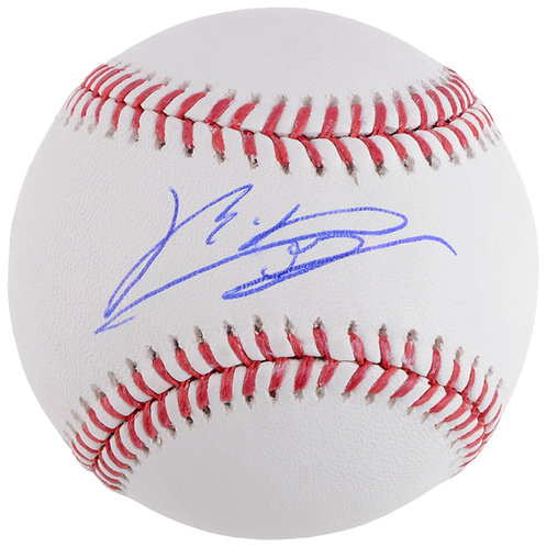 Rafael Devers Boston Red Sox Autographed Baseball