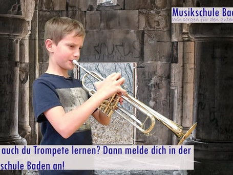 Trompetenwerbung