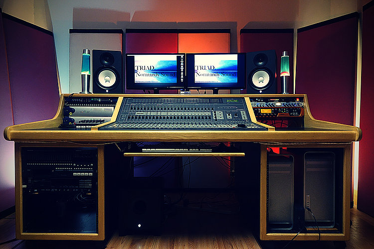 TRIAD Recording- production room