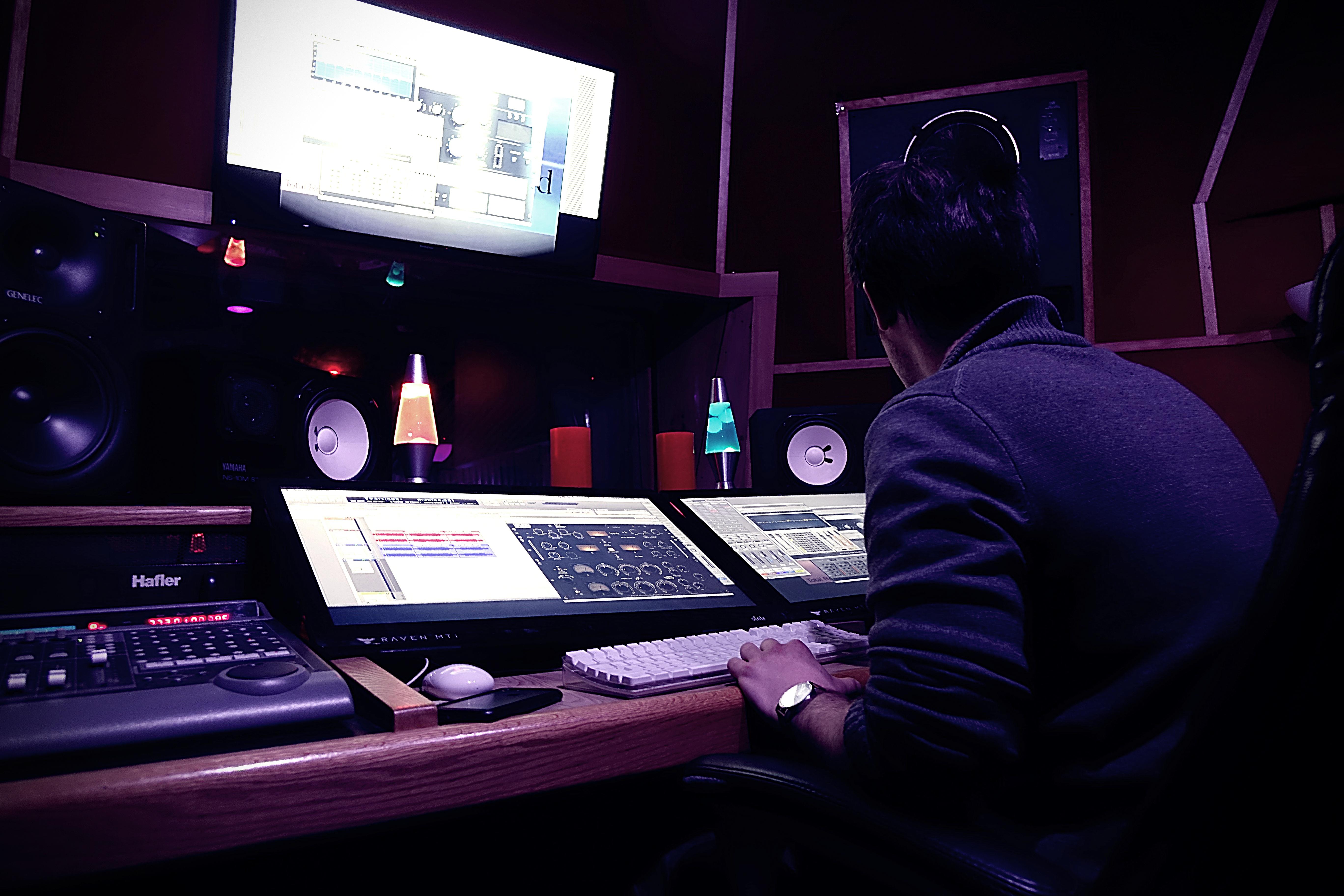TRIAD Recording- matt ricci working
