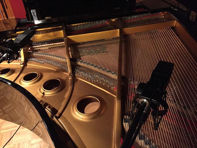TRIAD Recording- grand piano