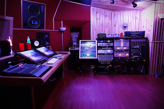 TRIAD Recording Control Room