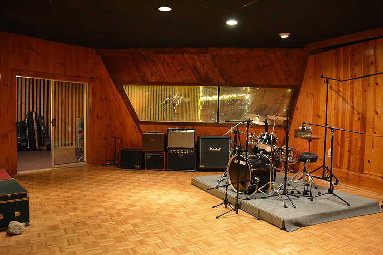 TRIAD Recording- Tracking Room