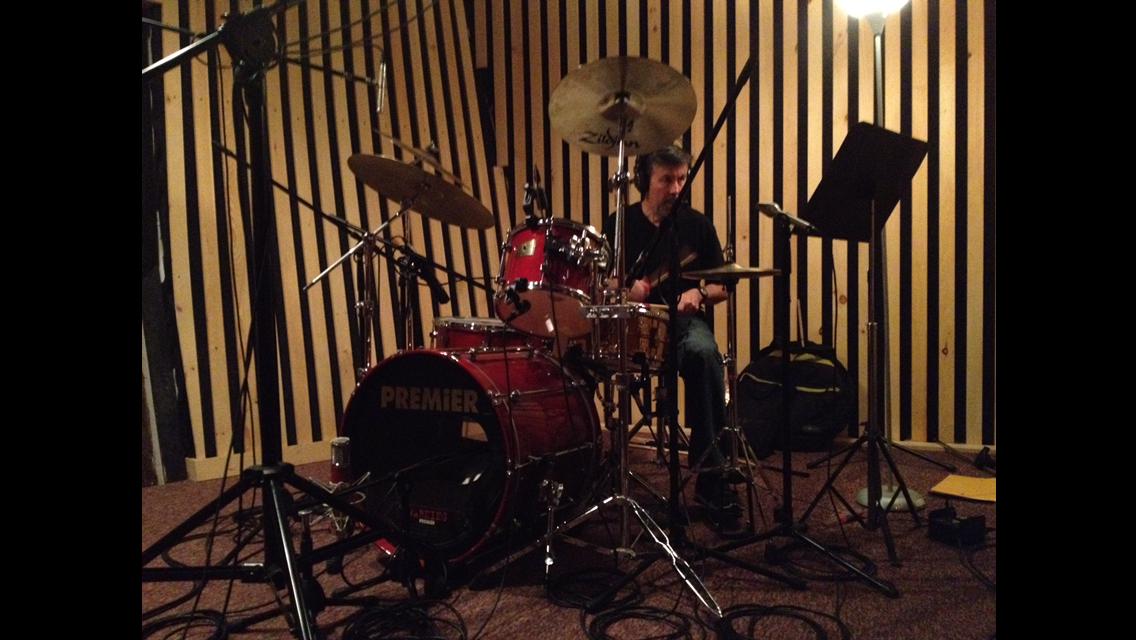 TRIAD Recording- George on drums
