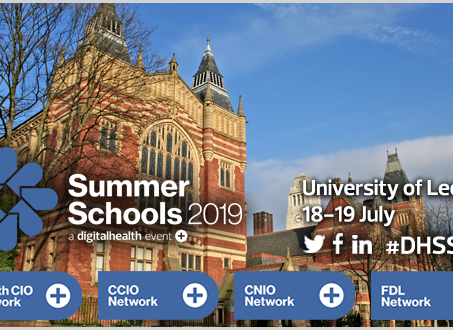 Why we're supporting the Digital Health Summer School 2019