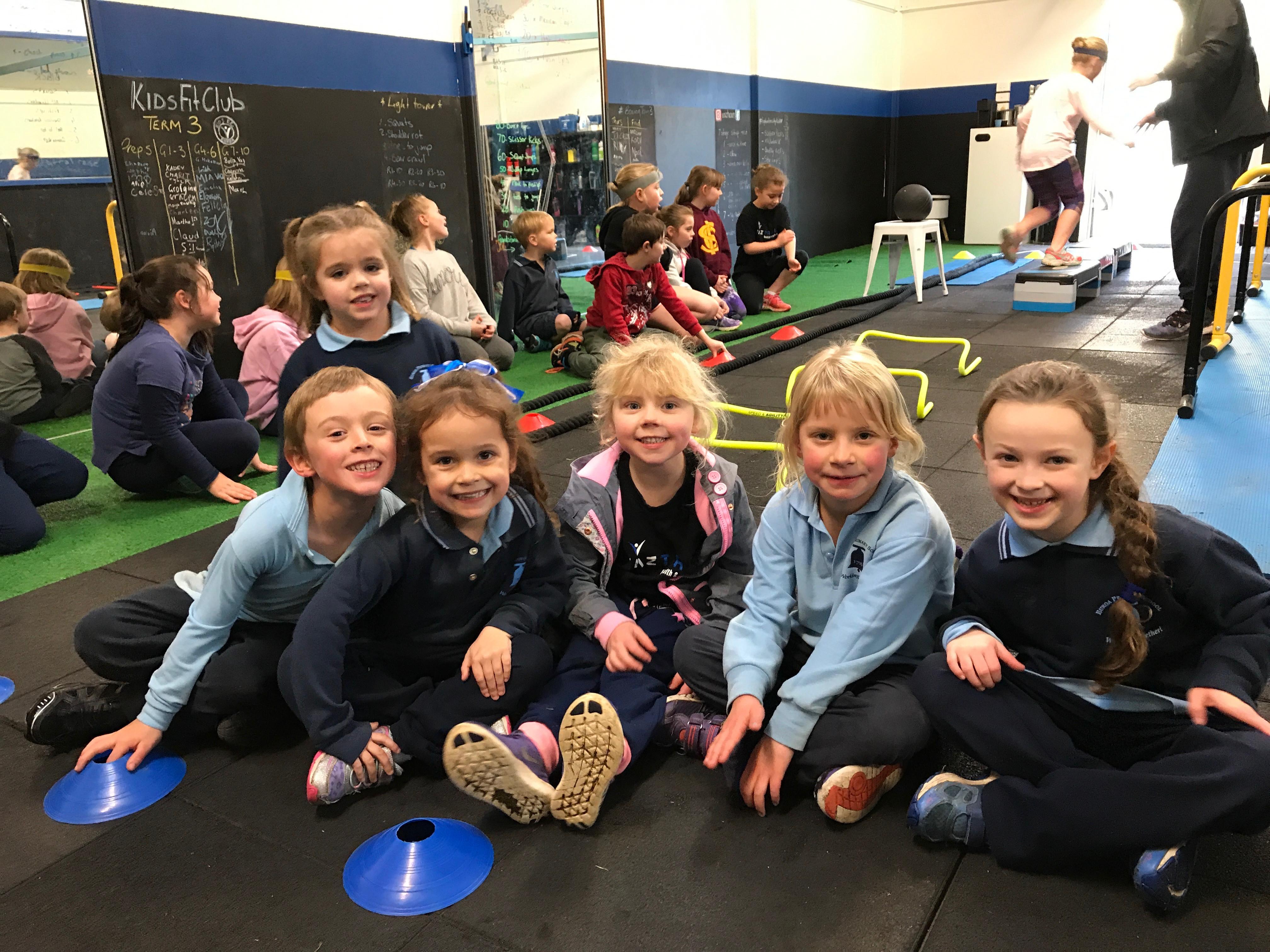 Term 2 Monday Prep-Grade 3 Kids Fit Club