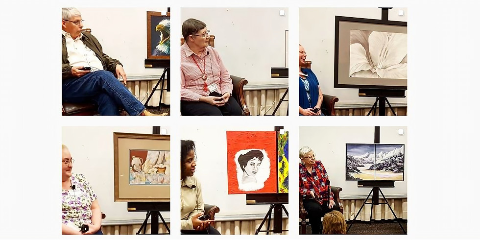 """Present at 2nd Annual """"Getting to Know You!"""" Night - via Zoom!"""