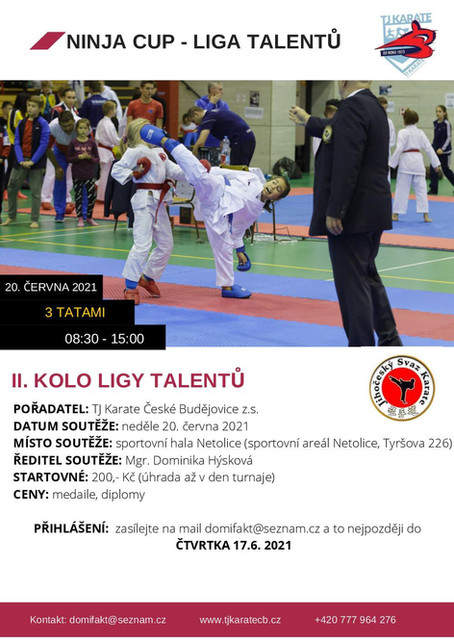 Liga talentů JčSKe II. kolo