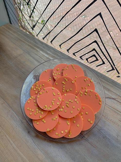 Oranje flikken