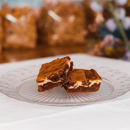 Gemarmerde Brownie (per stuk)