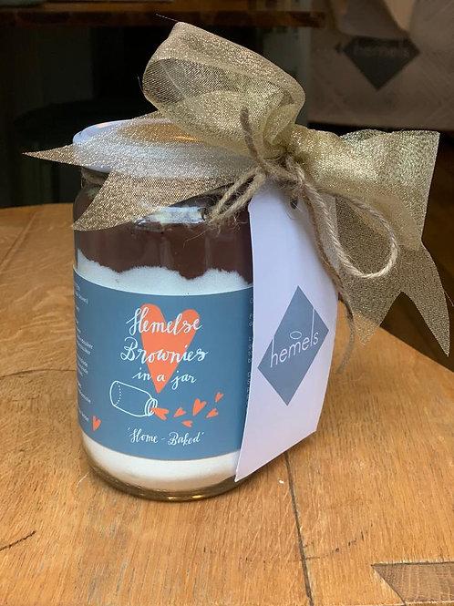 Hemelse Brownies in a Jar