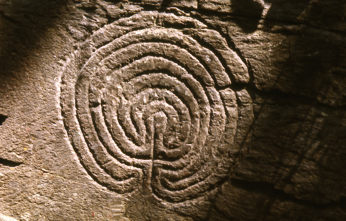 Rocky Valley Labyrinth - Tintagel