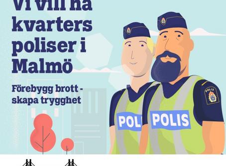 Vi vill ha kvarterspoliser