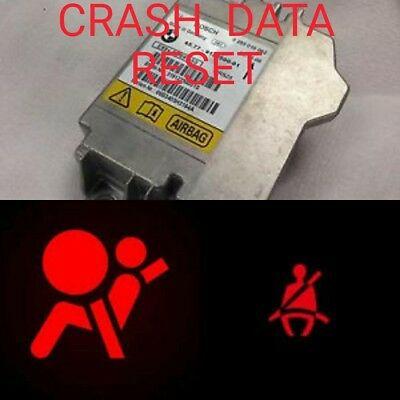 Airbag Crash Data Resetting