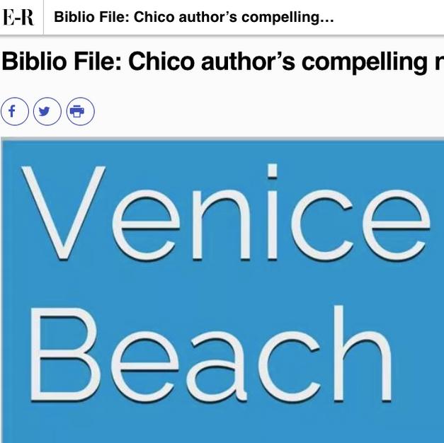 Biblio File: Chico author's compelling novel