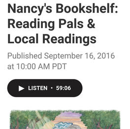 Nancy's Bookshelf: Reading Pals & Local Readings