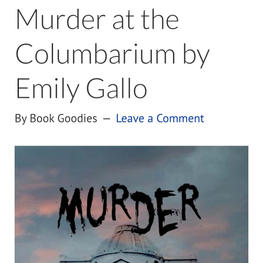 Murder at the Columbarium by Emily Gallo