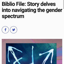 Biblio File: Story delves into nagivating the gender spectrum