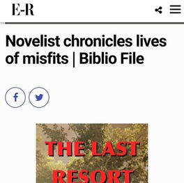 Novelist chronicles lives of misfits | Biblio File