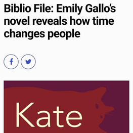 Biblio File: Emily Gallo's novle reveals how time changes people