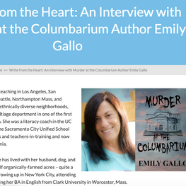 Write from the Heart: An Interview with Murder at the Columbarium Author Emily Gallo