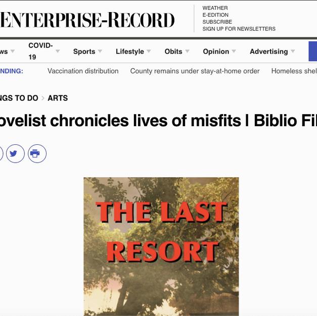 Novelist chronicles lives of misfits   Biblio File