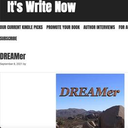 Book Feature: DREAMer