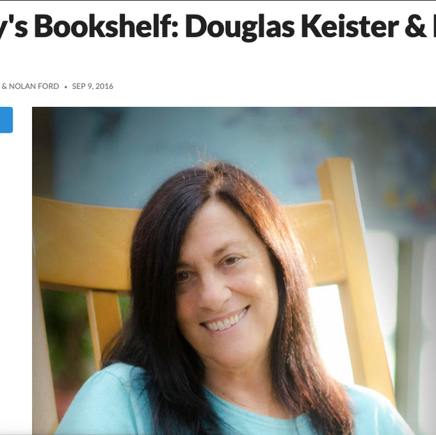 Nancy's Bookshelf: Douglas Keister & Emily Gallo