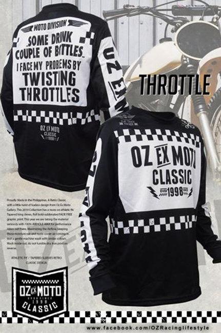 OZ RACING EX MOTO THROTTLE BLACK