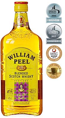 威廉皮爾嚴選蘇格蘭調和威士忌William Peel Blended Scotch Whiskey