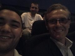 Screening at Vue Cinema with Steve & Krzysztof