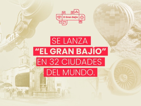 """SE LANZA """"EL GRAN BAJÍO"""" EN 32 CIUDADES DEL MUNDO.."""